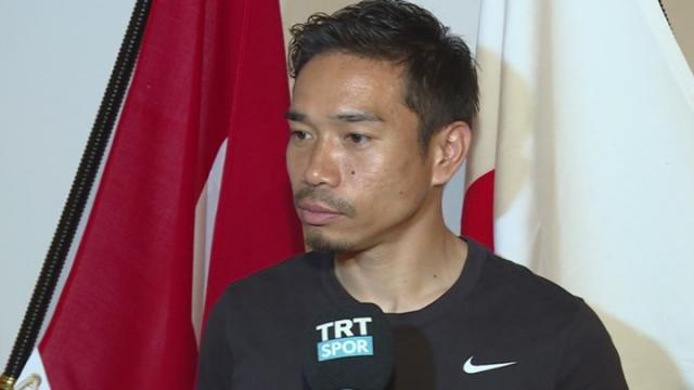 Nagatomo'dan TRTSPOR'a özel açıklamalar