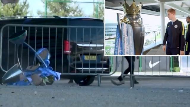 Manchester City'den kupa şakası