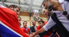 """Bakan Kasapoğlu'ndan """"Tek Yürek"""" dizi setine ziyaret"""