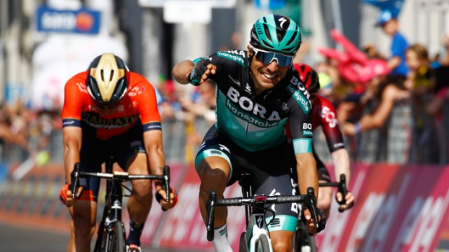 İtalya 12. etabı Cesare Benedetti kazandı