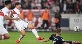 Ozanlı Stuttgart ilk maçta berabere
