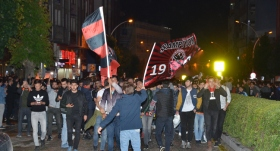 Yeni Çorumspor taraftarının 2. Lig sevinci