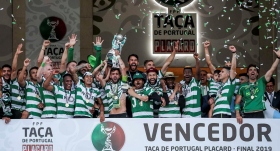 Sporting Lizbon kupayı penaltılarda kaptı