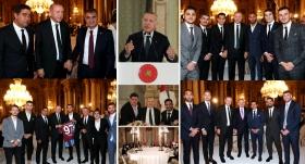 Cumhurbaşkanı Erdoğan sanatçı ve sporcularla iftarda buluştu