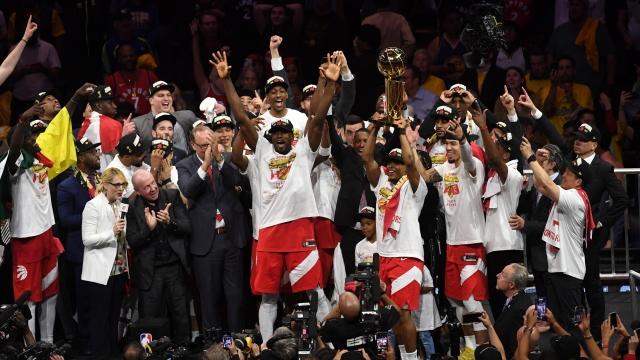 NBA'de Toronto Raptors şampiyon oldu