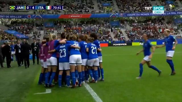 Jamaika:0 - İtalya:4