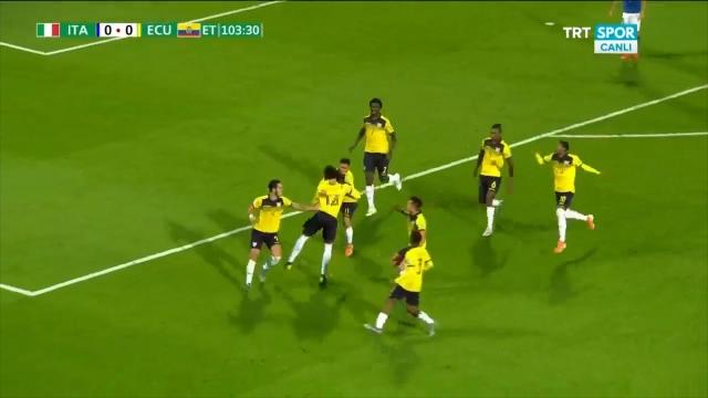 İtalya:0 - Ekvador:1