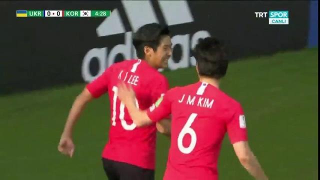 Ukrayna - Güney Kore (Gol)