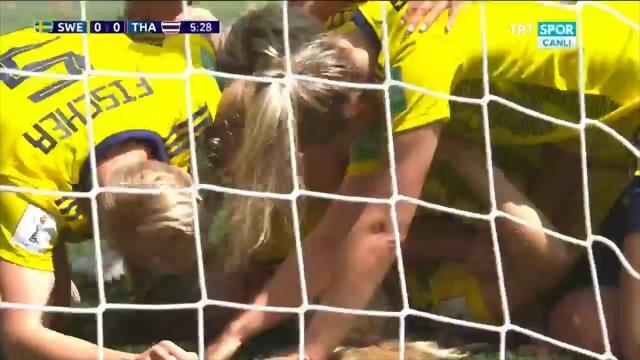 İsveç:1 - Tayland:0