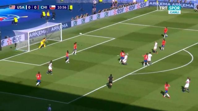 ABD 1-0 Şili (Gol)