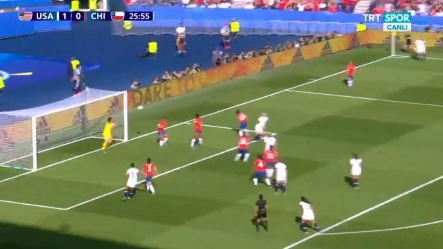 ABD 2-0 Şili (Gol)