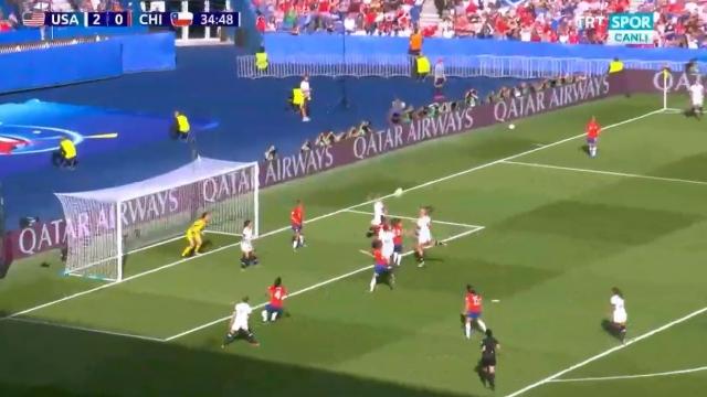 ABD 3-0 Şili (Gol)