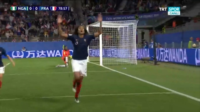 Nijerya:0 - Fransa:1