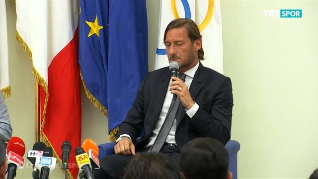 Totti, Roma'ya veda etti