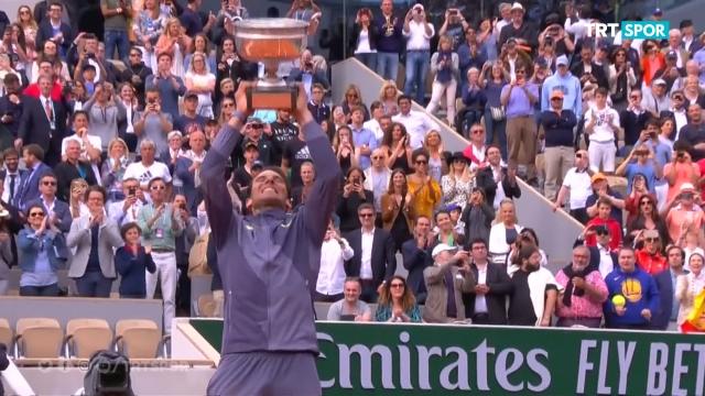 Nadal Wimbledon'a hazırlanıyor