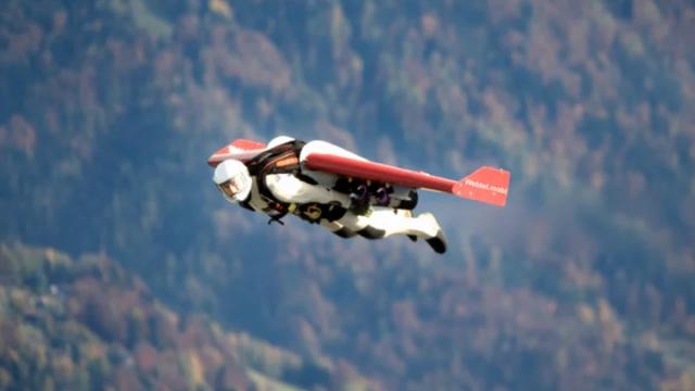 """""""Jet Adam"""" bu kez İtalya'da boy gösterdi"""
