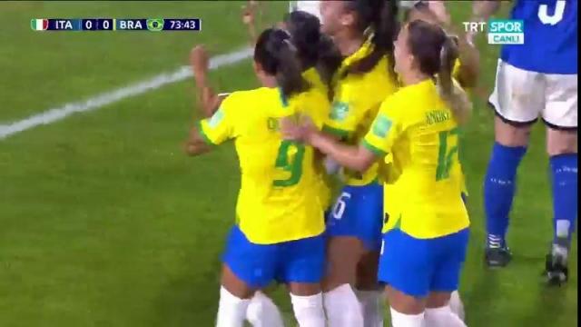 Brezilya 1-0 İtalya (Gol)