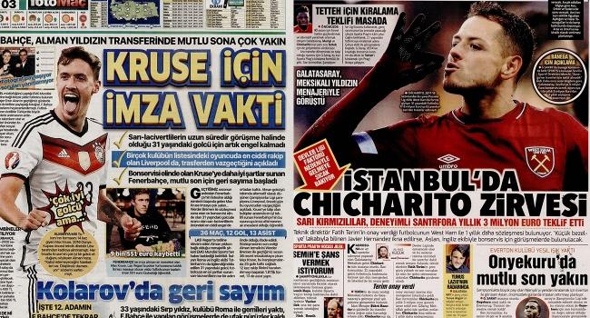 """""""İstanbul'da Chicharito zirvesi"""""""