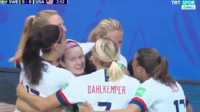 İsveç:0 - ABD:2 (Özet)