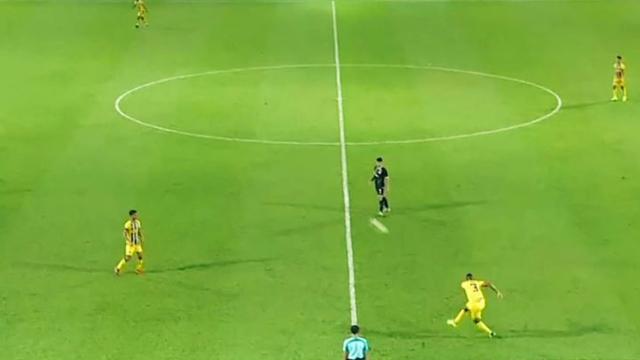Malezya Kupası'nda ilginç gol