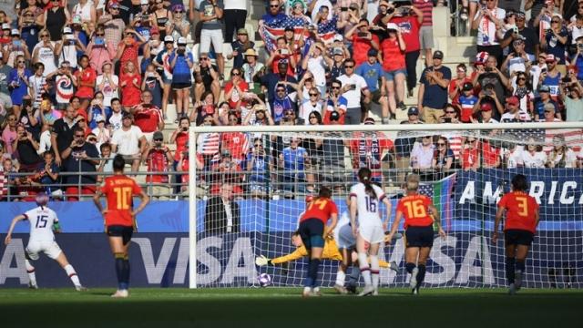 İspanya 1-2 ABD (Gol)