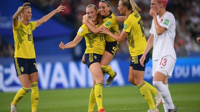 İsveç 1-0 Kanada (Gol)