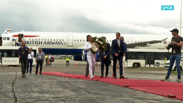Simona Halep ülkesi Romanya'ya döndü