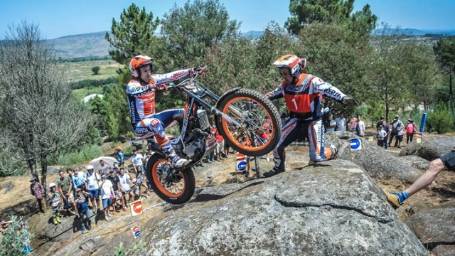 Moto Trial heyecanı Portekiz'de yaşandı