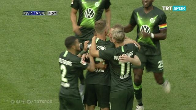Wolfsburg - PSV (Özet)