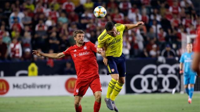 Arsenal - Bayern Münih (Özet)