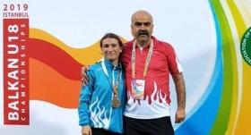 Kırşehirli sporcudan Balkan ikinciliği
