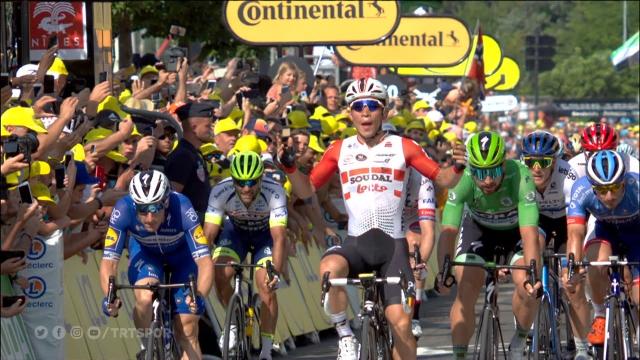 Fransa Bisiklet Turu'nda heyecan sürüyor