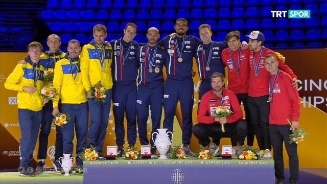 Dünya Eskrim Şampiyonası Macaristan'da sürüyor