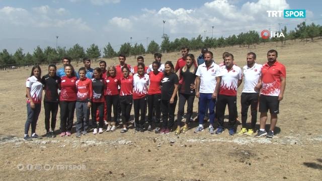 Atletizm Milli Takımı hazırlıklarına devam ediyor