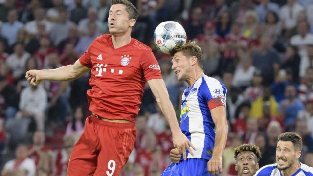 Bayern Münih - Hertha Berlin (ÖZET)