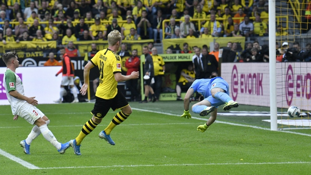 Borussia Dortmund - Augsburg (ÖZET)
