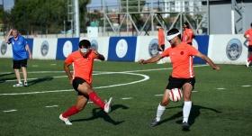 Görme engelli milli futbolcular hazırlıklarını sürdürüyor