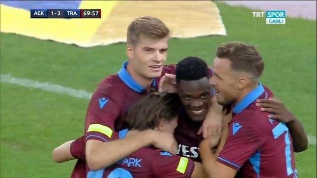 AEK:1 - Trabzonspor:3