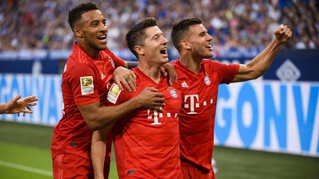 Schalke - Bayern Münih (Özet)
