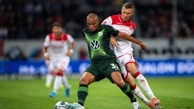 Fortuna Düsseldorf - Wolfsburg (Özet)