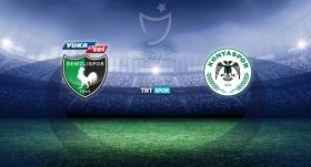 Yukatel Denizlispor Konyaspor'u ağırlıyor