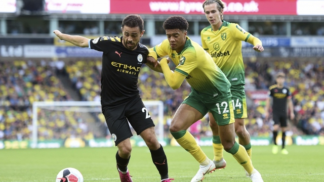 Norwich - Manchester City (Özet)