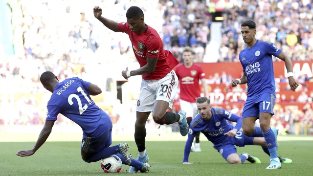 Manchester United - Leicester (Özet)