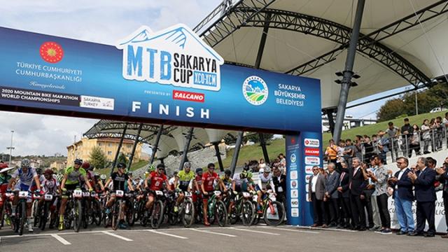 Dağ bisikleti heyecanı Sakarya'da yaşandı
