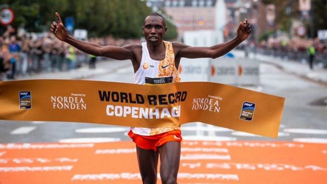 Kopenhag Yarı Maratonu'nda rekor kırıldı