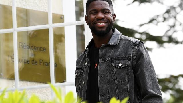 Samuel Umtiti'ye hırsız şoku