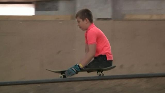 Engelli sporcunun müthiş azmi