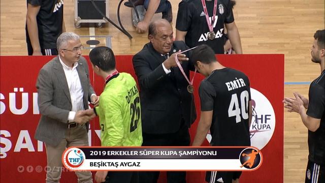 Süper Kupa Beşiktaş Aygaz'ın oldu