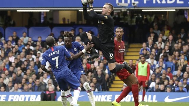 Chelsea - Liverpool (Özet)