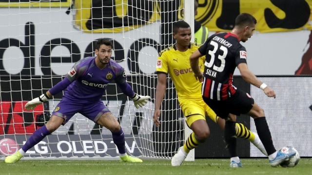 Frankfurt - Borussia Dortmund (Özet)